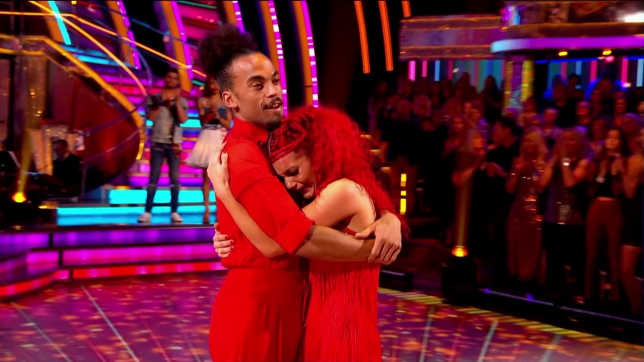Strictly's Dianne Buswell leaves viewers heartbroken as she breaks down in tears after elimination