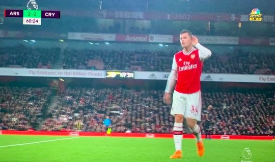 Gunners skipper Xhaka clashed with his own fans