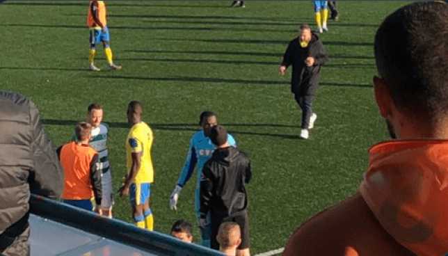 Douglas Pajeta was racially abused during Yeovil's FA Cup tie against Harringey