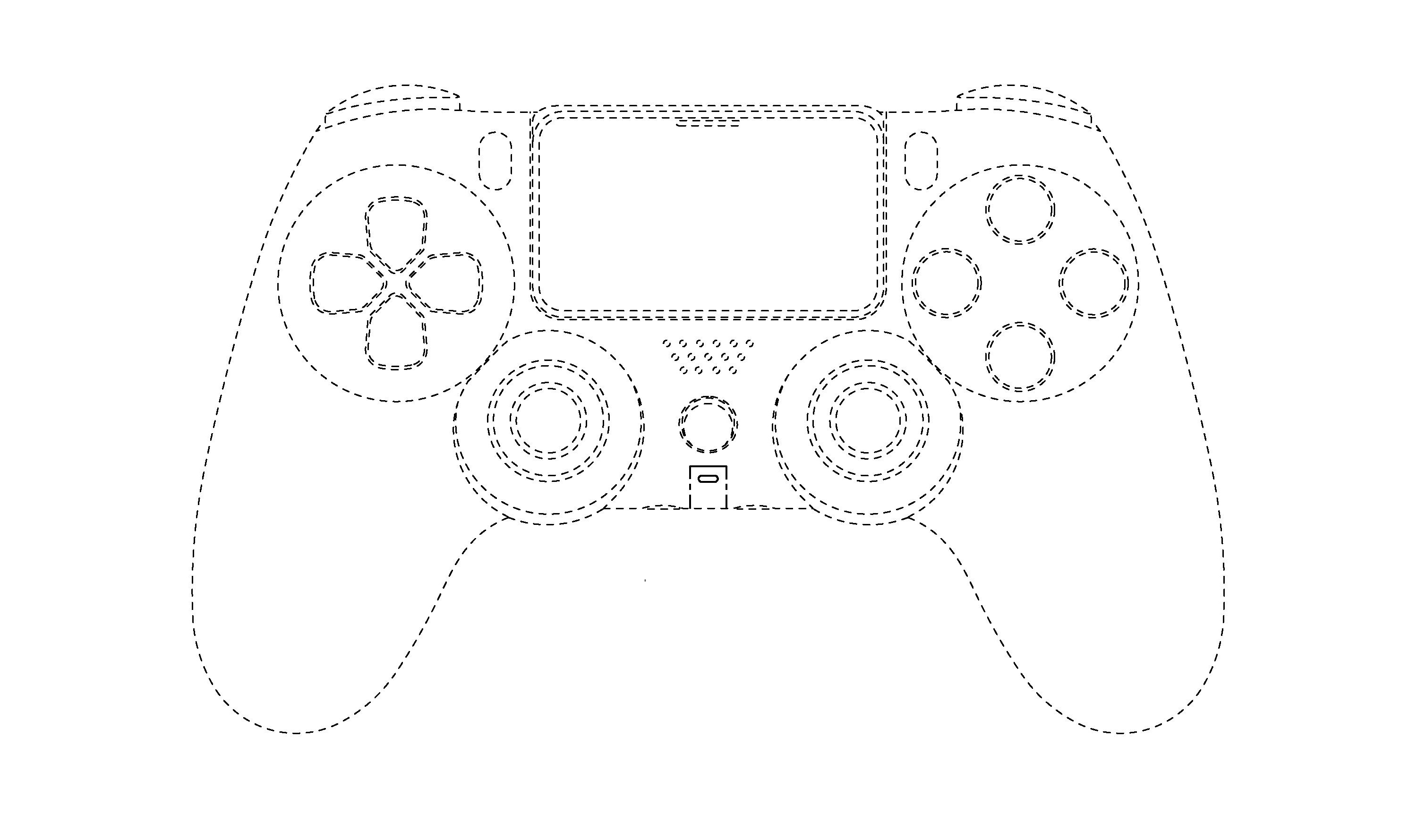 Ps5 Controller Patent Reveals Dualshock 5 Gamepad And No