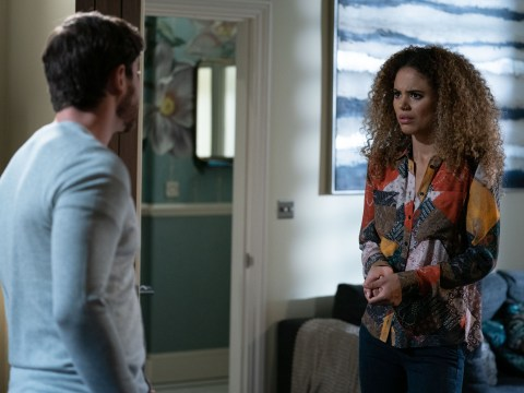 EastEnders spoilers: Chantelle Atkins discovers a worrying secret about violent Gray