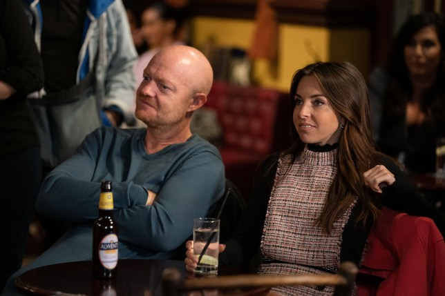 Max Branning and Ruby Allen in EastEnders