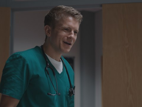 Casualty star George Rainsford jokes he will have a new look when he returns to filming
