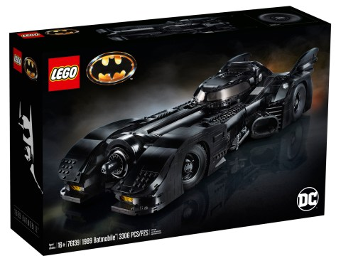 Lego 1989 Batmobile is the coolest version of best ever Batmobile