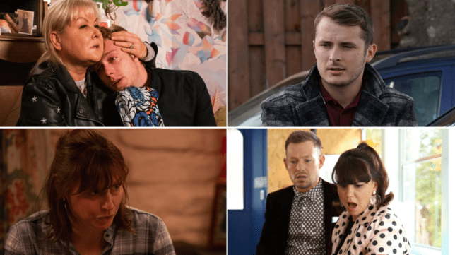 12 soap spoiler pictures: EastEnders proposal, Coronation Street theft, Emmerdale sex scandal, Hollyoaks kidnap
