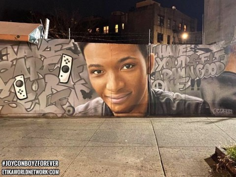 Etika mural tribute turned into Pokémon Go pokéstop