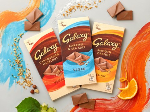 Galaxy is launching its first vegan chocolate bars (and the flavours sound amazing)