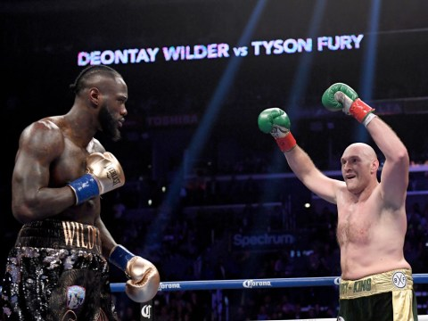 Tyson Fury taunts Deontay Wilder after Luis Ortiz knockout