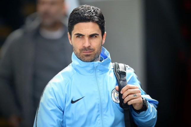Mikel Arteta is a leading candidate to take the Arsenal job