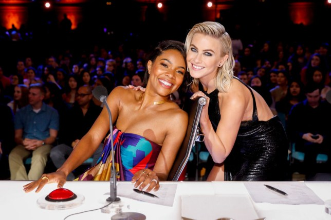 Agt S Gabrielle Union And Julianne Hough Complained Of