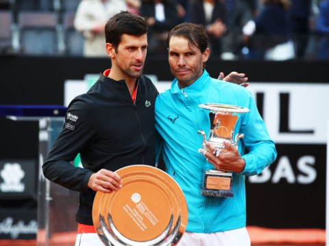 Rafael Nadal and Novak Djokovic address battle for year-end No. 1