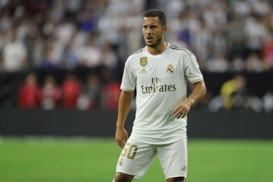 Real Madrid forward Eden Hazard was reportedly seven kilograms overweight in the summer