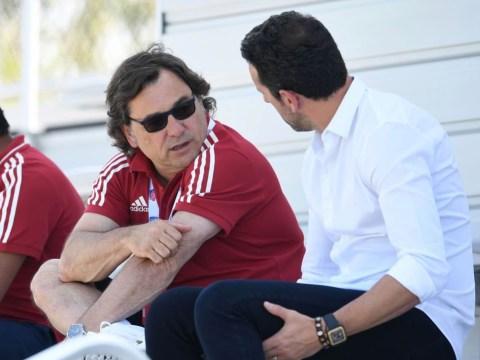 Arsenal deny claims Raul Sanllehi dined with Jose Mourinho amid Unai Emery backlash
