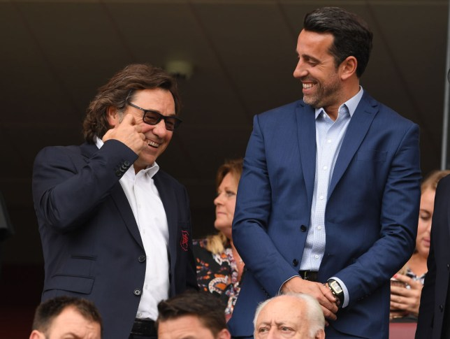 Image result for raul and edu arsenal