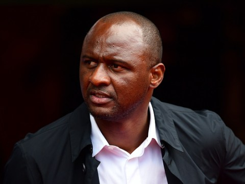 Patrick Vieira issues warning to Arsenal fans who want Unai Emery sacked