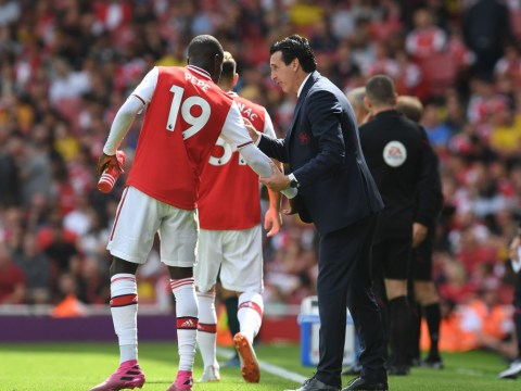 Sacked Arsenal manager Unai Emery was shocked by Nicolas Pepe's struggles