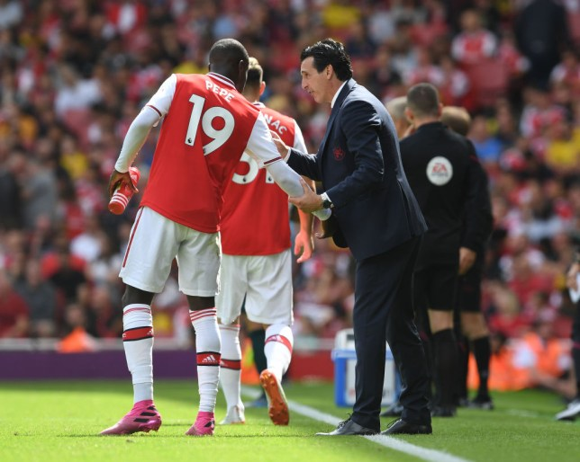 Nicolas Pepe has struggled to justify his £72million price tag since signing for Arsenal