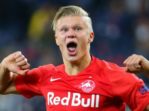 Arsenal step up Erling Haaland interest as striker's father visits training ground