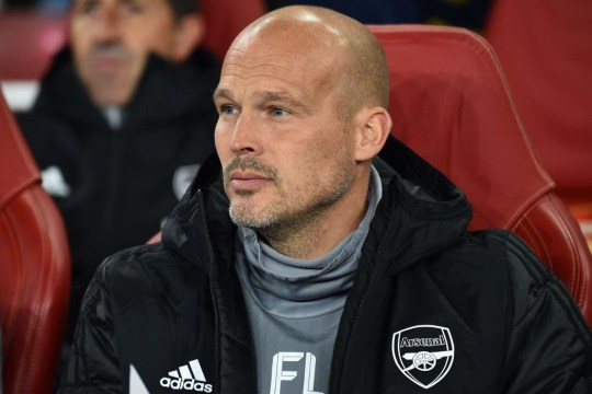 Freddie Ljungberg could be in charge for Arsenal's clash with Norwich on Sunday