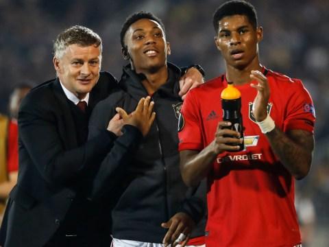 Marcus Rashford claims Ole Gunnar Solskjaer is the best manager for Man Utd amid Mauricio Pochettino links