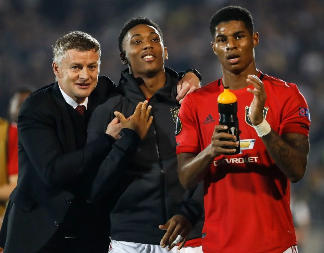 Marcus Rashford has backed Manchester United manager Ole Gunnar Solskjaer
