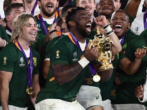 Rugby World Cup final: South Africa grind England down to claim 32-12 victory