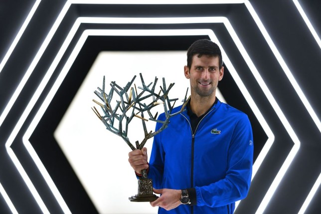 Novak Djokovic beat Denis Shapovalov to clinch his fifth Paris Masters title