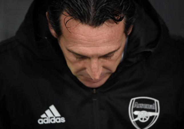 Unai Emery's position at Arsenal is under threat after a series of soporific performances