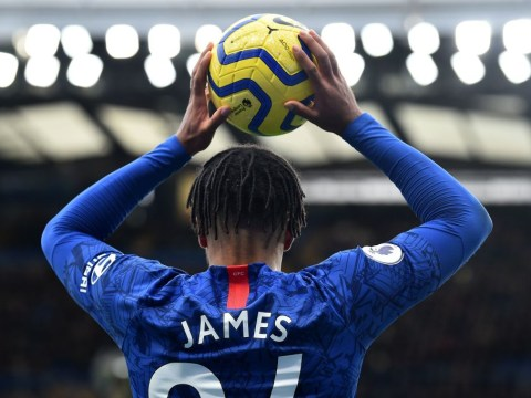 Frank Lampard rates Reece James performance up against Wilfried Zaha