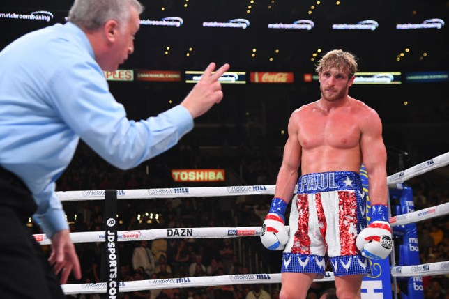 Logan Paul docked two points against KSI by referee Jack Reiss