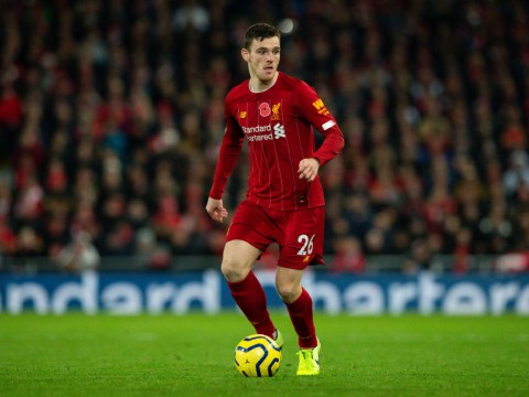 Andrew Robertson sends brilliant messages to Mo Salah and Roberto Firmino after Liverpool win over Man City