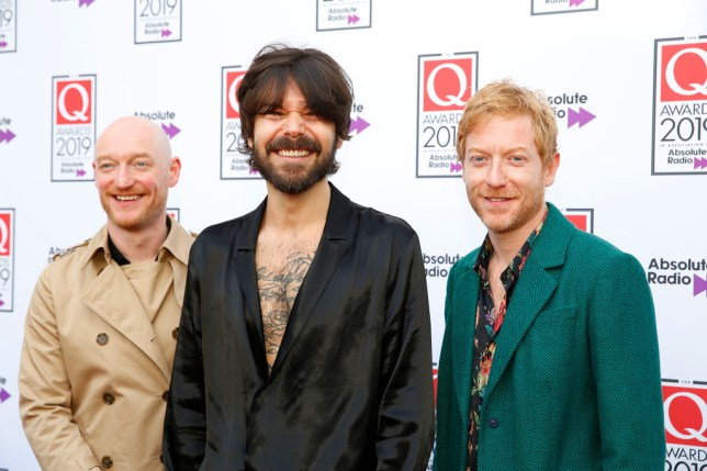 Biffy Clyro call Fleetwood Mac 'cheeky bast**ds' for 'rejecting' Glastonbury headline slot over money