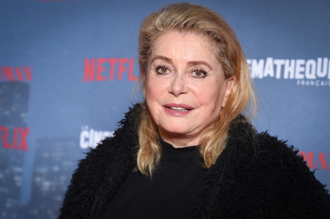 French actress Catherine Deneuve in hospital after suffering 'a mild stroke'