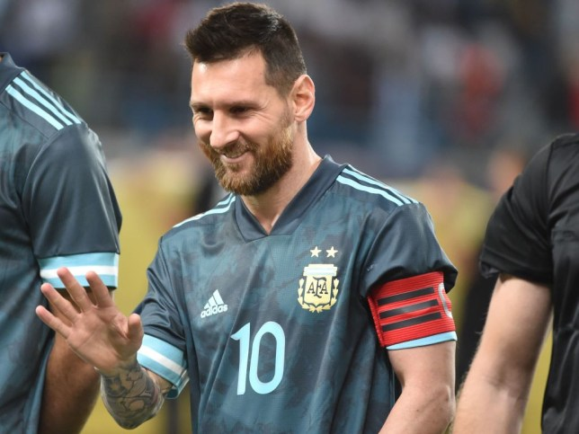 Lionel Messi was at the centre of controversy during Argentina's win over Brazil