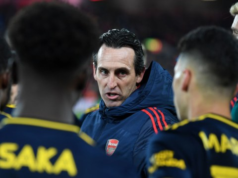 Arsenal players openly 'taking the p***' out of Unai Emery as pressure on the manager increases