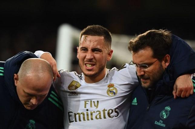 Zinedine Zidane has provided an injury update on Real Madrid star Eden Hazard