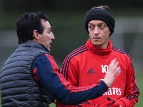 Why Unai Emery was unhappy with Mesut Ozil before his Arsenal sacking