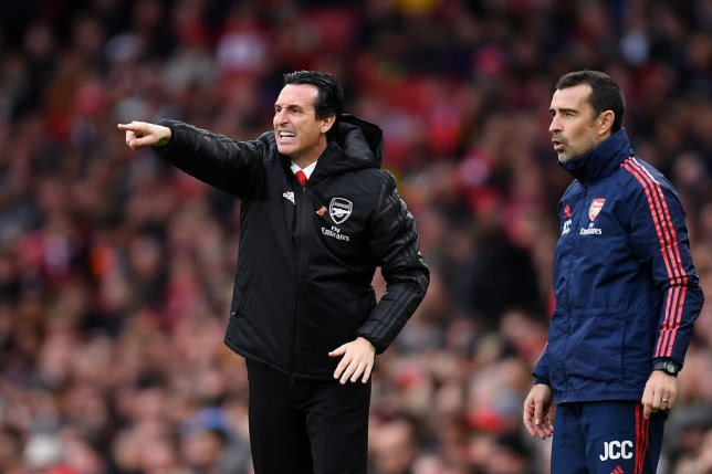 Ian Wright was 'very disappointed' by one of Unai Emery's substitutions