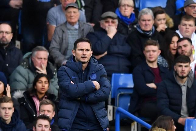 Frank Lampard has reacted to Chelsea's shock Premier League defeat to West Ham