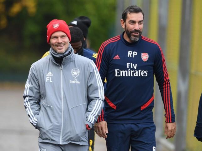 Robert Pires and Freddie Ljungberg are part of Unai Emery's coaching set-up at Arsenal