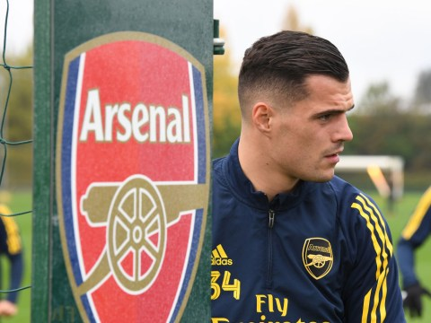 Granit Xhaka rubbishes Unai Emery's claim he isn't ready to play for Arsenal again