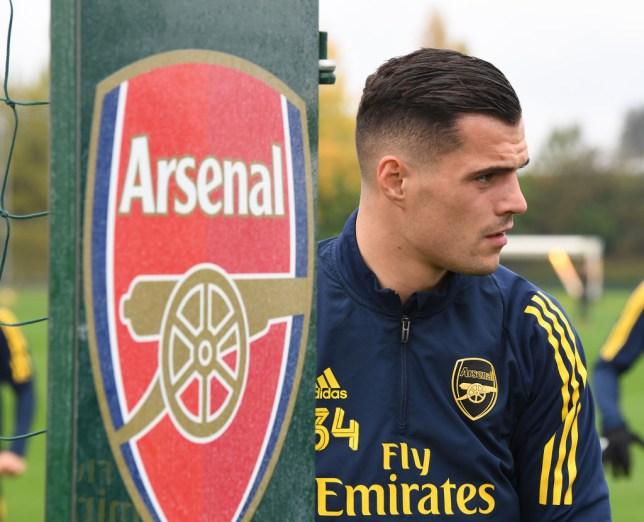 Arsenal midfielder Granit Xhaka 'ready' to return to team