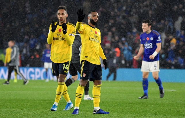 Alexandre Lacazette and Pierre-Emerick Aubameyang are considering their futures
