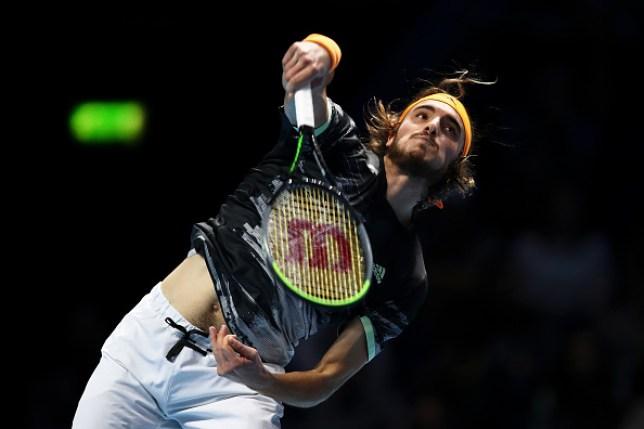 Stefanos Tsitsipas beat Daniil Medvedev for the first time in his career