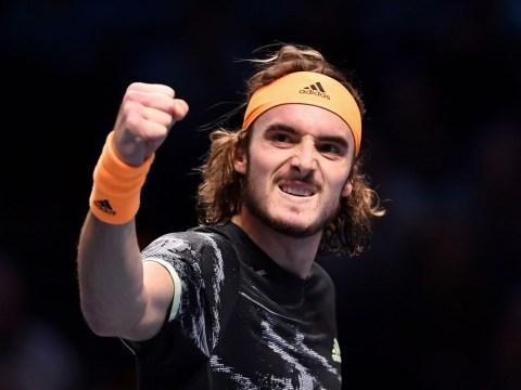 Stefanos Tsitsipas finally beats nemesis Daniil Medvedev in ATP Finals opener