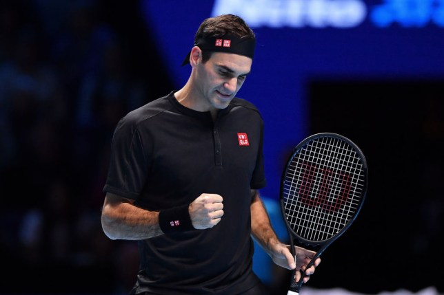 Roger Federer beat Matteo Berrettini to boost his ATP Finals hopes