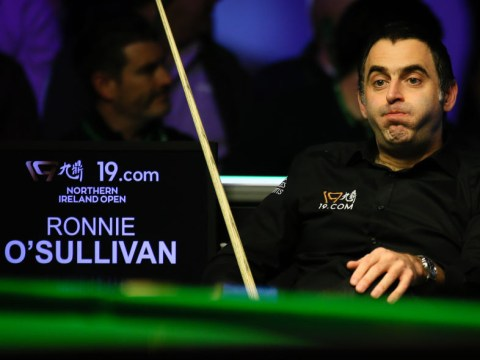 Ronnie O'Sullivan looking forward to Ding Junhui UK Championship clash despite 'really bad' injury