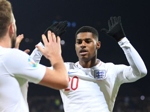 Roy Keane says Marcus Rashford is 'back to his best' after 'pure quality' goal for England against Kosovo