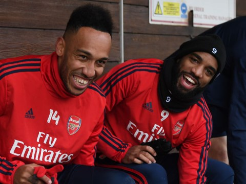 Alexandre Lacazette & Pierre-Emerick Aubameyang refused to sign new contracts with Unai Emery at Arsenal
