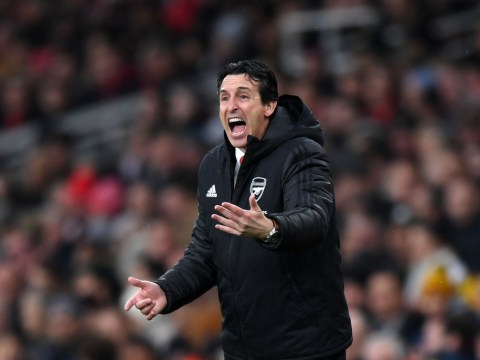 Unai Emery responds after Arsenal fans chant for him to be sacked during Southampton draw